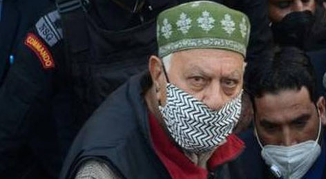 Farooq Abdullah prevented from leaving residence to offer prayers, claims NC