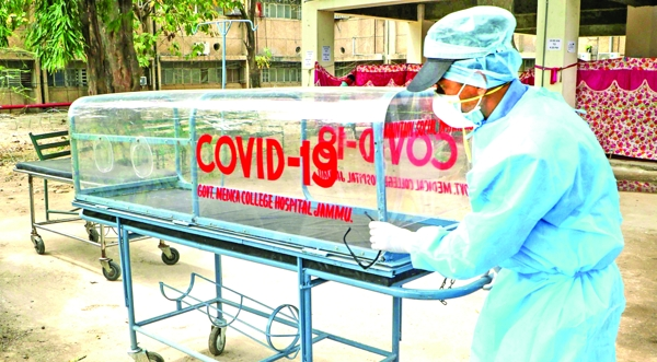 Ladakh records one more COVID-19 death, nine new cases