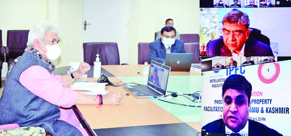 IPFC will encourage small businesses, increase J&K's  footprint in global marketplace: Sinha
