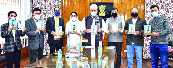 LG releases 'Ahsasan Hunde Sheeshe Khane'-a poetry collection by Dr Darakhshan Andrabi
