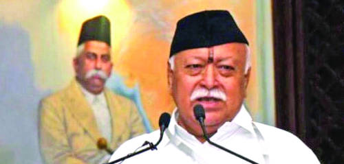 India should be bigger than China in power, scope: Bhagwat