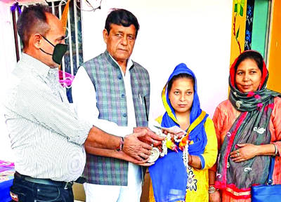PWF provides financial  assistance for girl's marriage