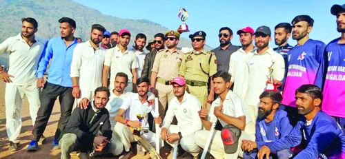 Police Martyrs Cricket Tournament culminates