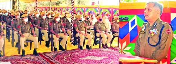 Remain extra vigilant while performing duty: ADGP Armed to Jawans