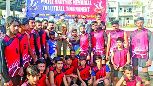 Shaheed Manjit Club wins Volleyball tie