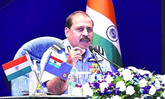 Armed forces must be ready to combat hybrid threats: IAF Chief
