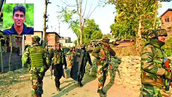 Four SF personnel martyred, three terrorists killed in Machil