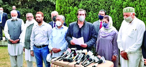 Gupkar Alliance to unitedly fight upcoming J&K DDC elections