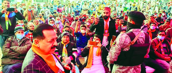 DDC vote is vote for grassroot 'self-rule': Dr Jitendra