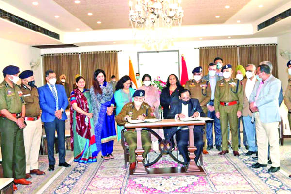 J&K Police signs MoU with BSEIL for skill dev training for wards of policemen
