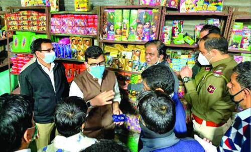 Jammu city recorded moderate air quality this Diwali: JKPCB