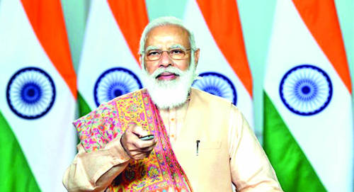 PM urges people to support local economy, asks seers to spread message of 'vocal for local'