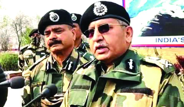 Over 250 terrorists at launch pads across LoC: BSF