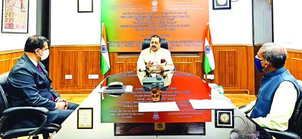 Dr Jitendra launches 'Ideas Box' on Good Governance Practices in Pandemic