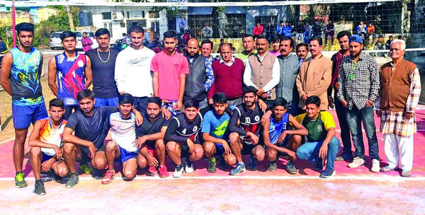 32nd District Kathua Volleyball Championship begins