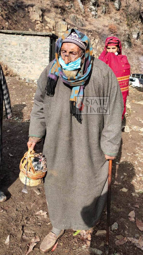 Age couldn't deter 110-year old's spirit to vote in Bandipora hamlet