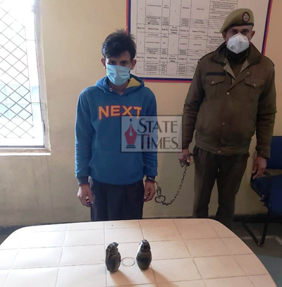 Terror plot foiled in Jammu, one arrested with two grenades