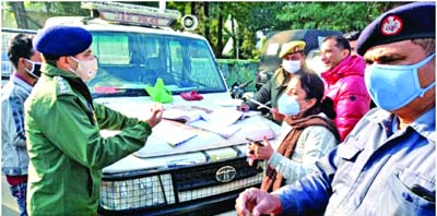 Traffic Police lays various Nakas ahead of New Year celebrations