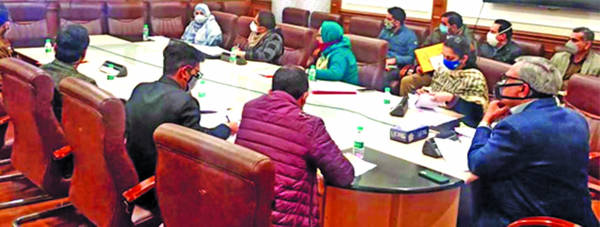 Advisor Farooq attends virtual meeting chaired by Union WCD Minister