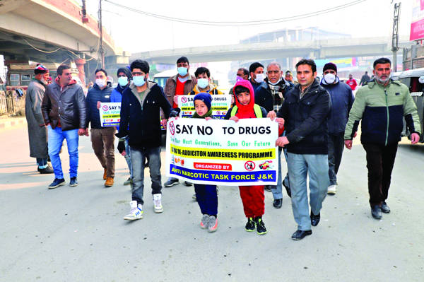 ANTF conducts awareness programmes