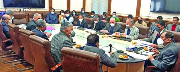 Advisor Bhatnagar chairs meet on implementation of NEP-2020 in HED