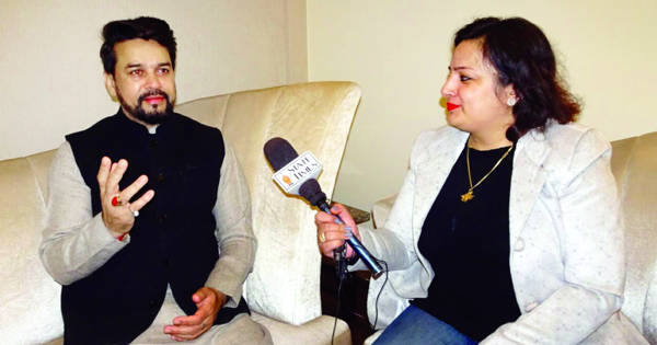 BJP committed to holistic development of J&K: Anurag Thakur