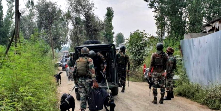 Two LeT terrorists surrender before security forces in J&K