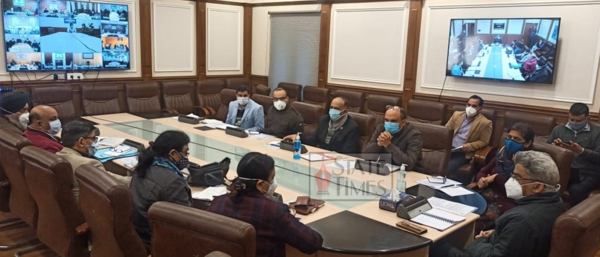 Atal Dulloo chairs preliminary meet for implementation of SEHAT scheme