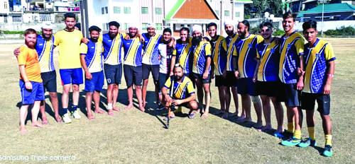 BBSBC emerges Poonch Hockey League Champ
