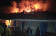 Massive fire broke out in District Court Complex Bhadarwah, heritage building burnt