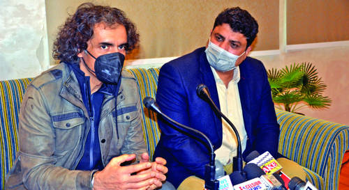 Preparing creative plans for providing platform to J&K youth for proper exposure: Imtiaz Ali