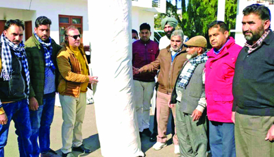 DYSS Poonch distributes cricket mats