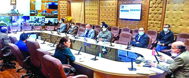 PMO reviews implementation of Flagship Schemes in UTs