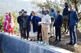 Central team inspects Watershed Development projects in Udhampur