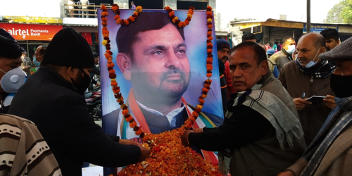 Chhamb people pay tributes to Madan Lal Sharma