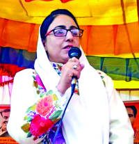 People's participation in polls endorsement of constitutional change in J&K: Dr Darakhshan