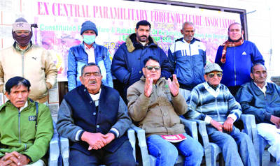 Ex-CPFWA cancels meeting with IG Jammu
