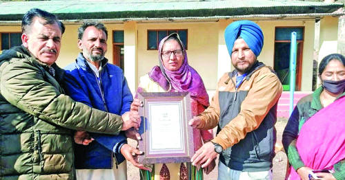 GHS Poonch declared 'Fit India' School