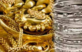 Gold declines Rs 369; silver tanks Rs 390
