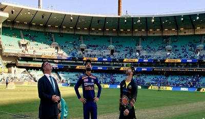 India win toss, opt to bowl in second T20I against Australia