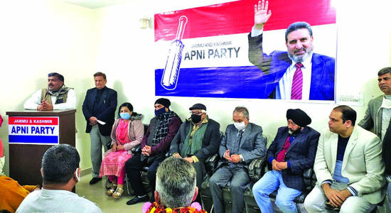 Apni Party announces 4 SC, OBC office bearers for Jammu Rural