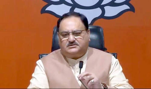 Nadda's convoy attacked, Shah says state gripped by 'tyranny'