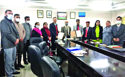 University of Jammu signs MoU with ICSI