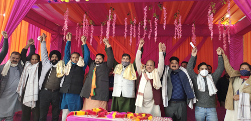 BJP's emphatic win in DDC elections tight slap on Gupkaris' face: Jugal