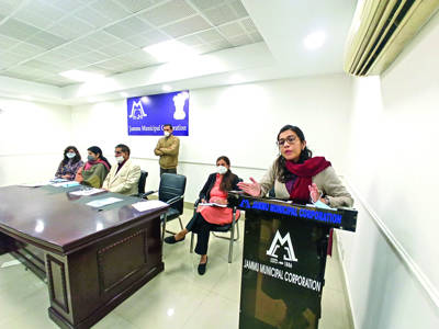 JMC conducts training programme for SWM rules