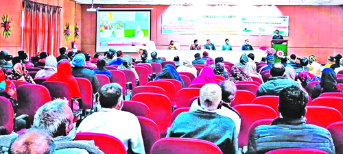 KVK organises farmer-scientist interaction, Kisan Sammalen