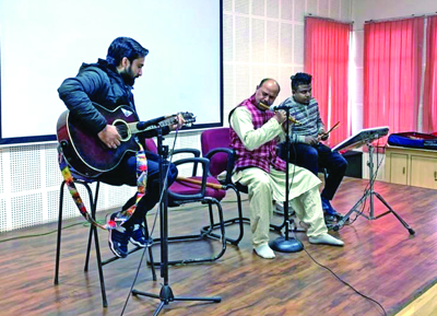 Superpositivity Concert held at Model Academy