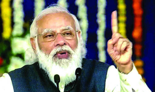 Conspiracy afoot to confuse farmers: Modi