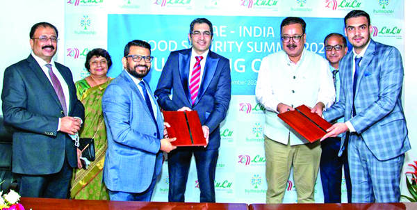 Lulu group inks MoU with Fruit Master Agro Fresh J&K