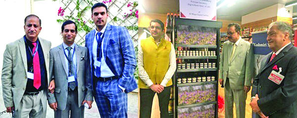 Navin launches GI tagged saffron from Kashmir in UAE